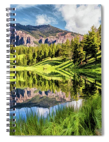 Yellowstone National Park Trout Lake Spiral Notebook by Christopher Arndt
