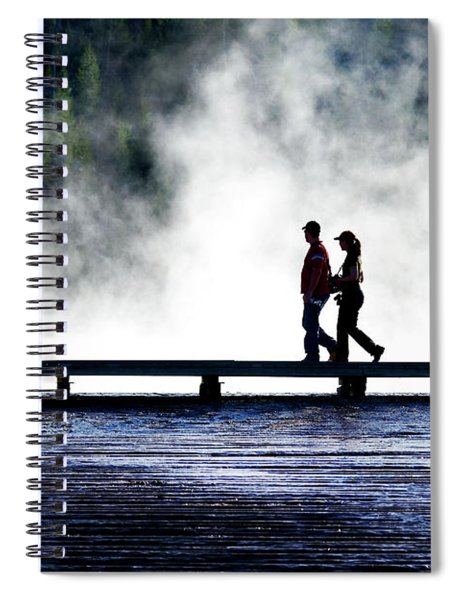 Yellowstone Walkers Spiral Notebook