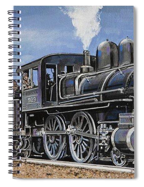 Yesteryear Classic Locomotive Spiral Notebook