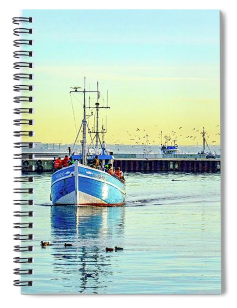 Yield For Ducks Spiral Notebook