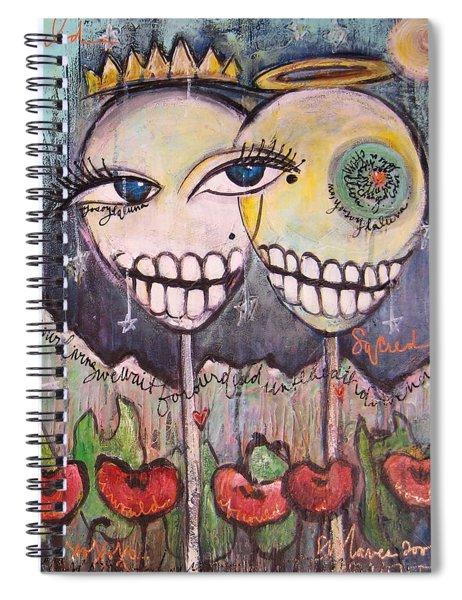 Yo Soy La Luna Spiral Notebook