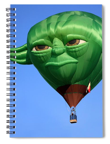 Yoda In The Sky Spiral Notebook