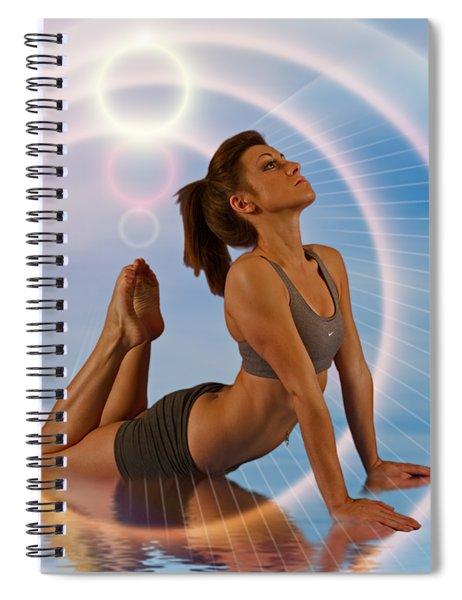 Yoga Girl 1209206 Spiral Notebook