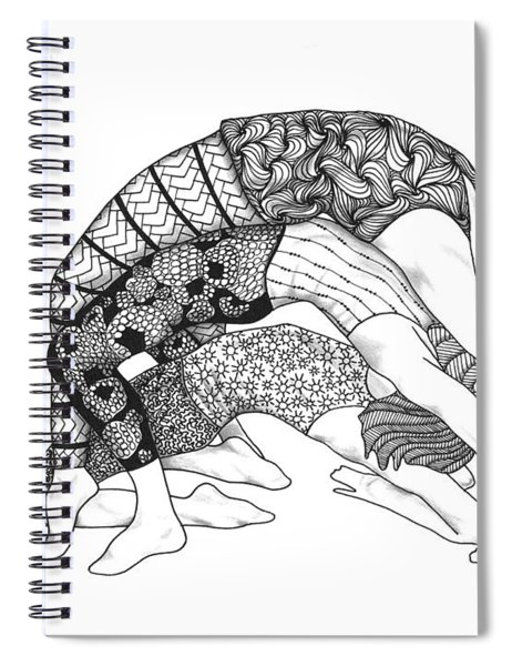 Yoga Sandwich Spiral Notebook
