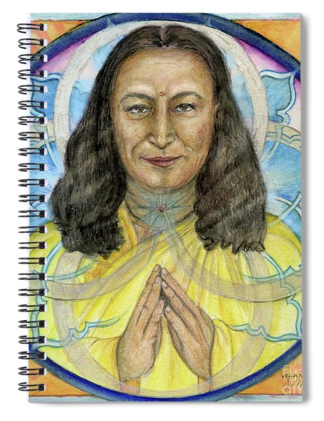 Yogananda Spiral Notebook