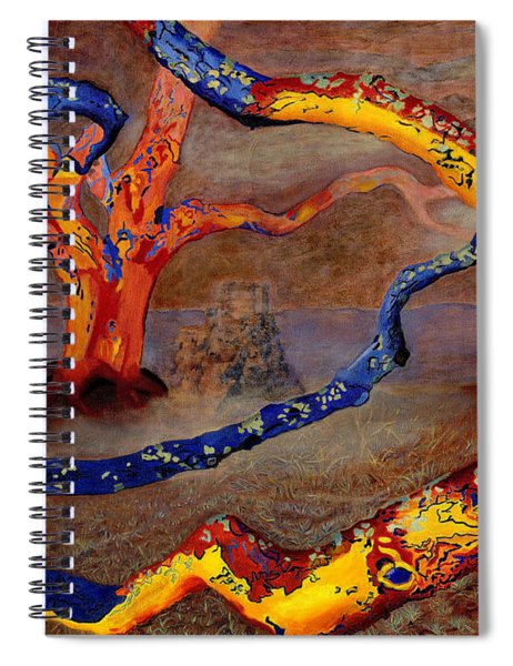 Yolande's Great Oak Spiral Notebook