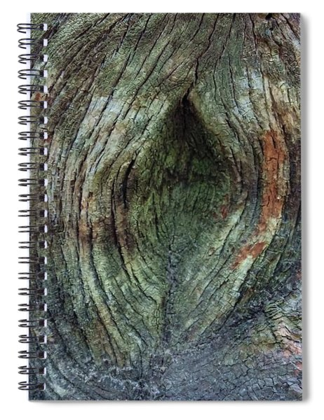 Yoni Au Naturel Une Spiral Notebook
