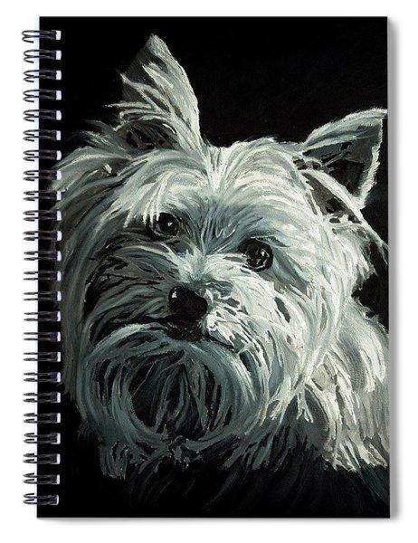 Yorkie Spiral Notebook