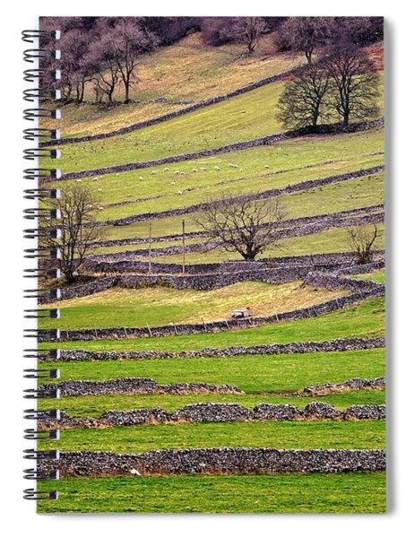 Yorkshire Dales Stone Walls Spiral Notebook