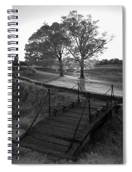 Yorktown - Battlefield Foot Bridge Spiral Notebook