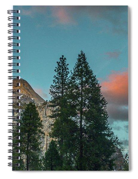 Yosemite Campside Evening Spiral Notebook