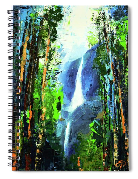 Yosemite Falls Spiral Notebook