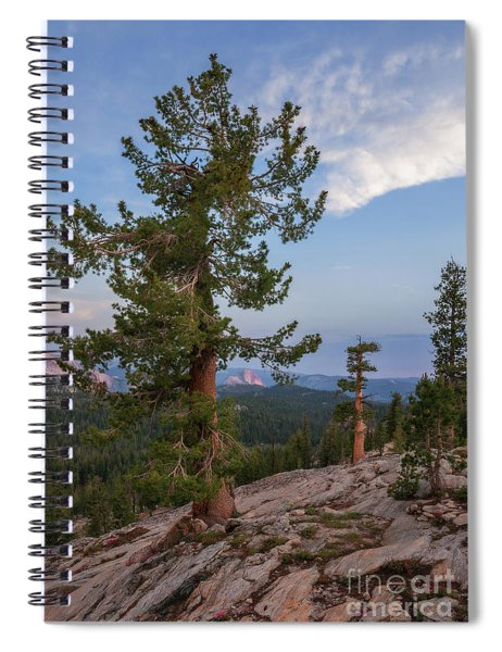 Half Dome From May Lake Spiral Notebook