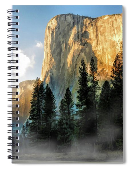 Yosemite National Park El Capitan Spiral Notebook