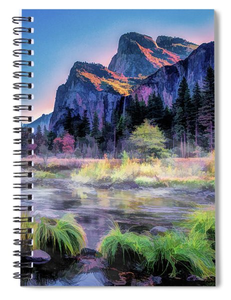 Yosemite National Park Valley Spiral Notebook