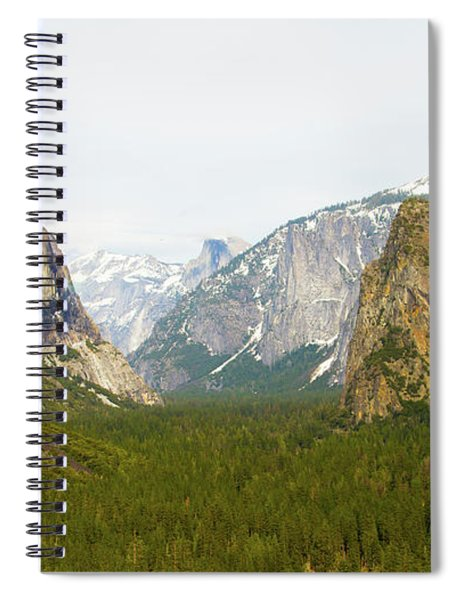 Yosemite Valley 7d6063 Spiral Notebook