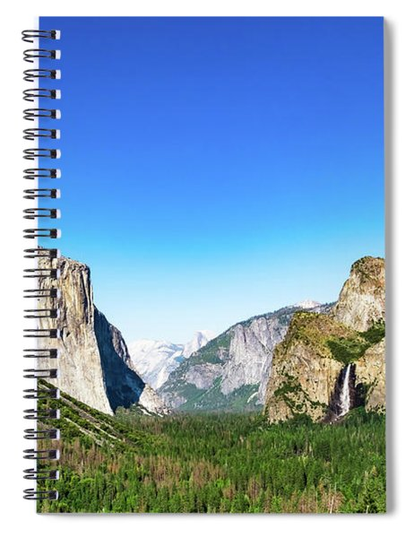 Yosemite Valley- Spiral Notebook