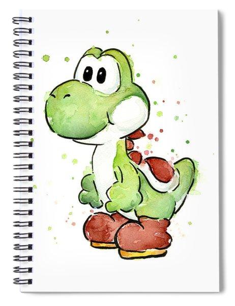 Yoshi Watercolor Spiral Notebook