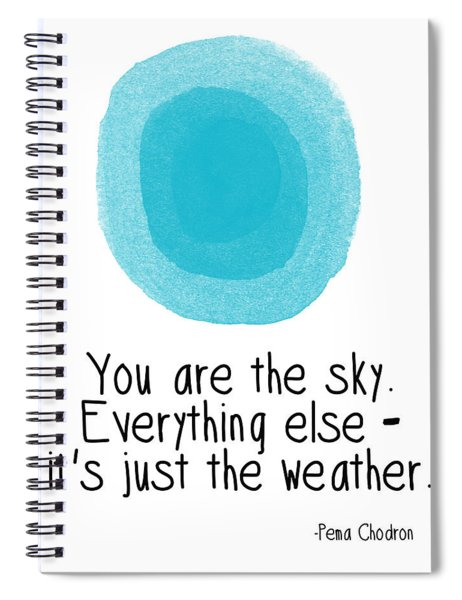You Are The Sky Spiral Notebook
