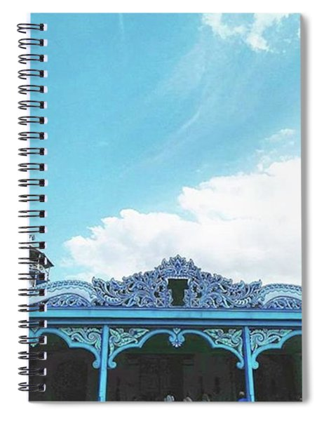 Solo Traditional Building Spiral Notebook