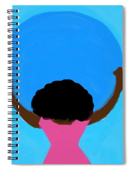 You Can Carry The Moon 103 Spiral Notebook