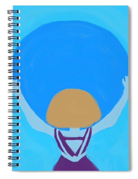 You Can Carry The Moon Spiral Notebook