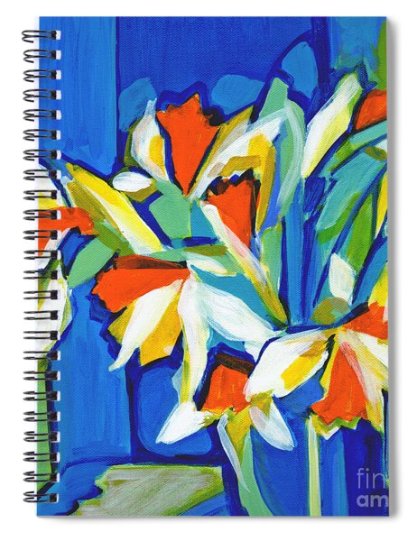 You Can Never Hold Back Spring Spiral Notebook