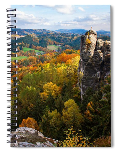 You Give Me The Wings. Saxon Switzerland Spiral Notebook