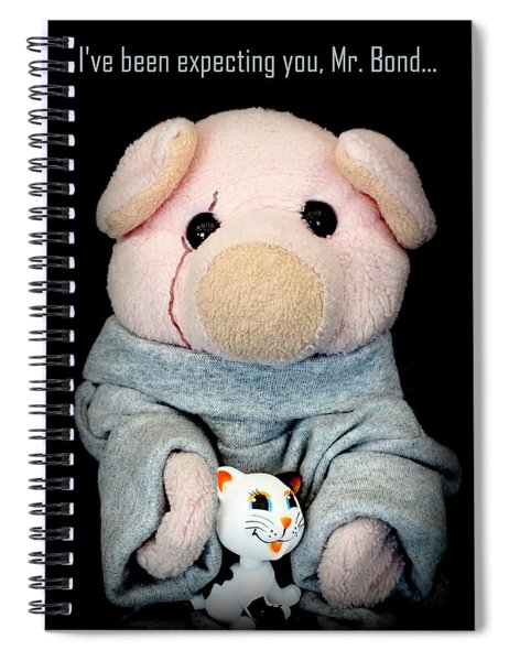 You Only Oink Twice Spiral Notebook