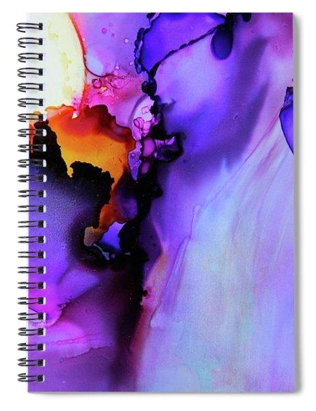 You Set My Soul On Fire Spiral Notebook