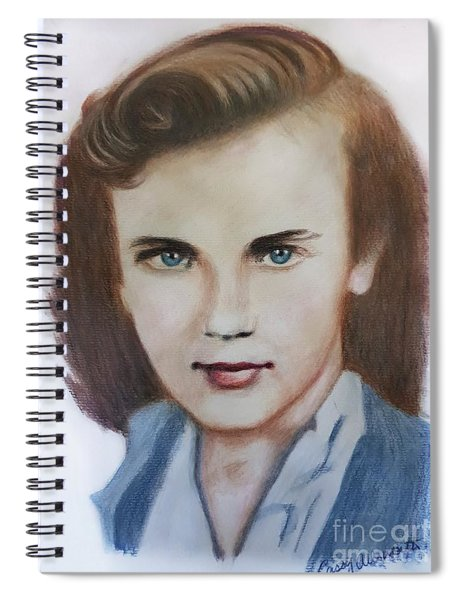 Young Elizabeth  Spiral Notebook