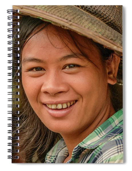 Young Lady Spiral Notebook