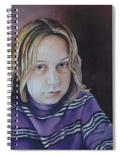 Young Mo Spiral Notebook