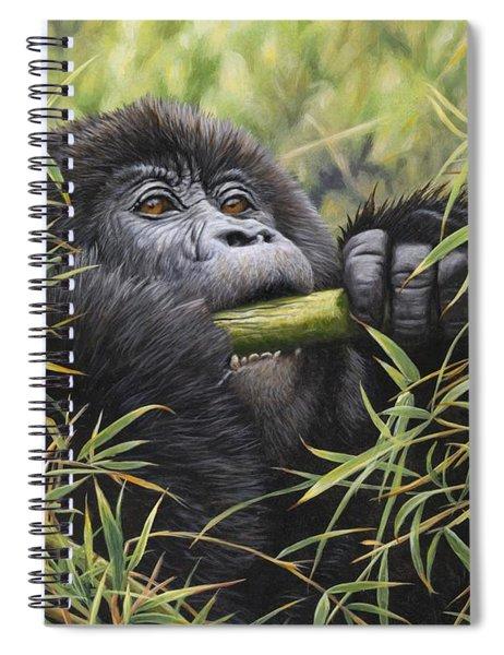 Young Mountain Gorilla Spiral Notebook