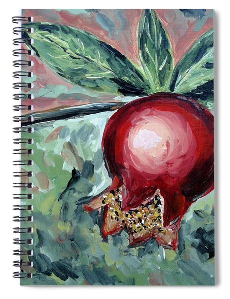 Young Pomegranate Spiral Notebook