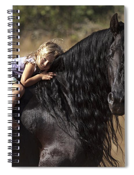 Young Rider Spiral Notebook