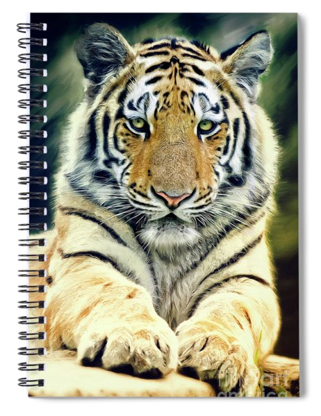 Young Tiger Spiral Notebook