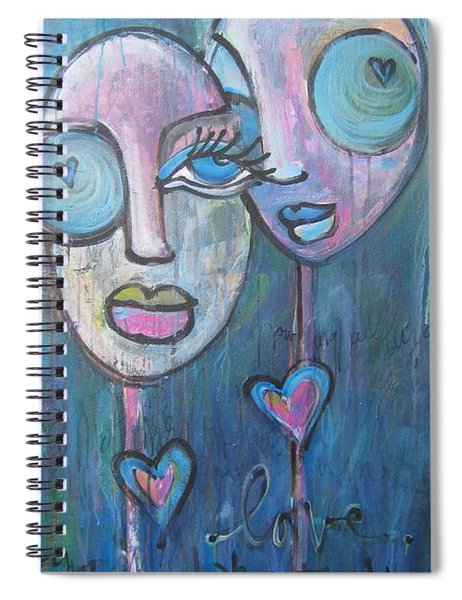 Your Haunted Heart And Me Spiral Notebook