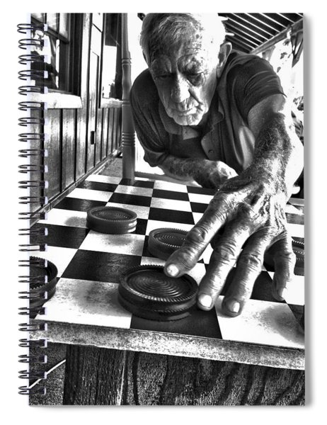 Your Move Dad Bw Art Spiral Notebook