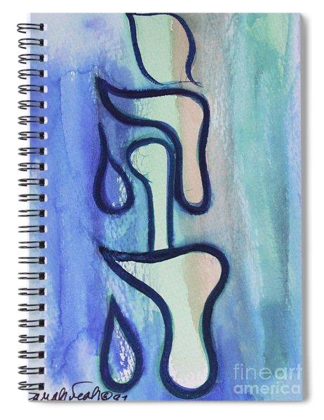 yv1 YUD HEY VAV HEY NAME OF GOD Spiral Notebook