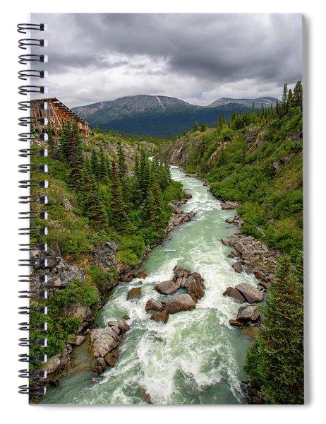 Yukon River Spiral Notebook