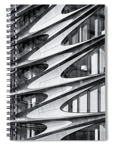 zaha hadid Architecture in NYC Spiral Notebook