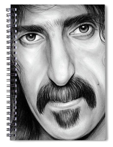 Zappa Spiral Notebook