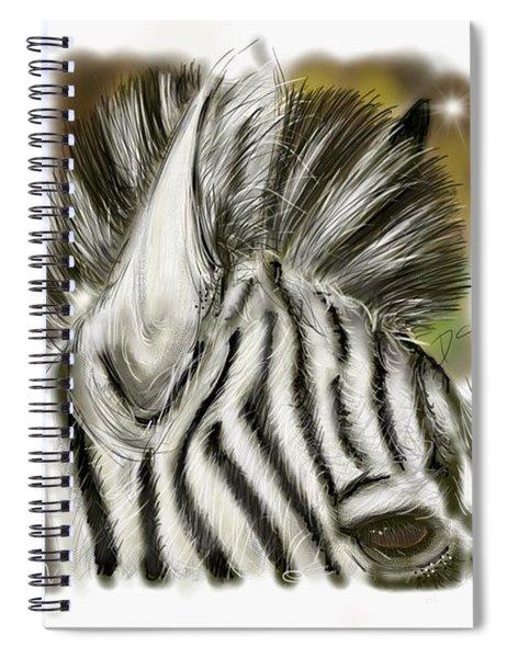 Zebra Digital Spiral Notebook