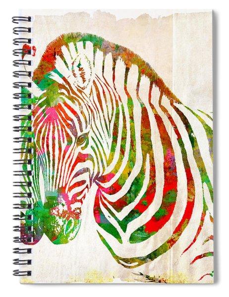 Zebra Lovin Spiral Notebook