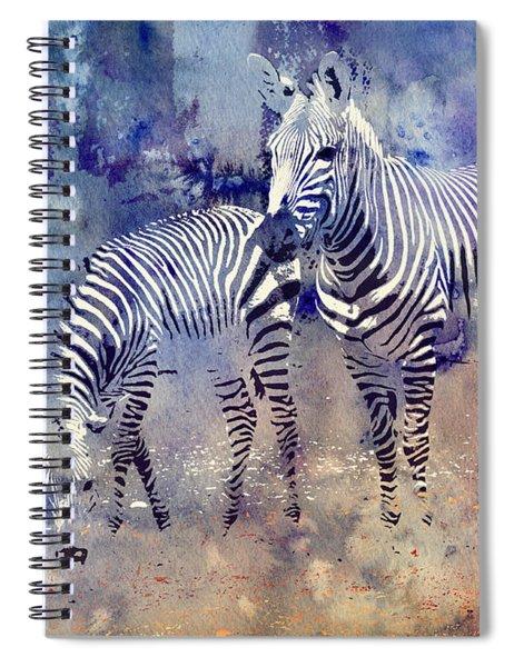 Zebra Paradise Spiral Notebook