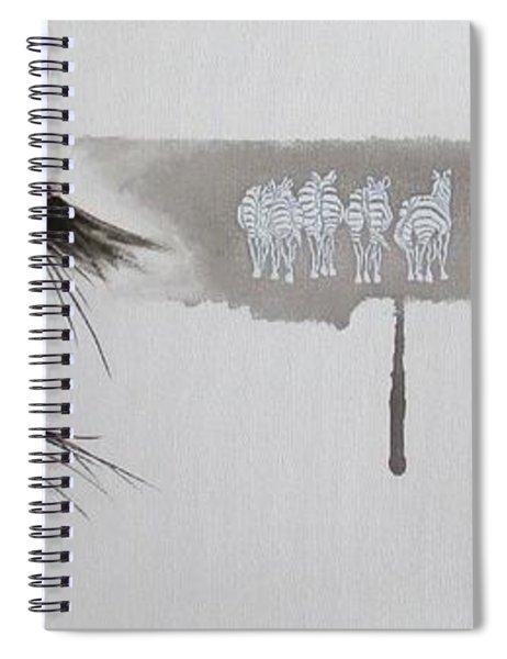 Zebra Tears Spiral Notebook