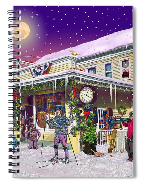 Zebs General Store In North Conway New Hampshire Spiral Notebook