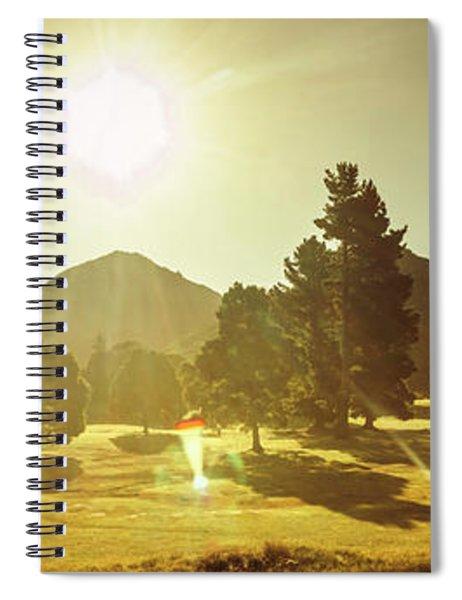 Zeehan Golf Course Spiral Notebook