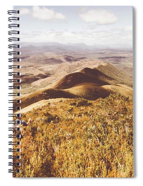 Zeehan Tasmania Spiral Notebook